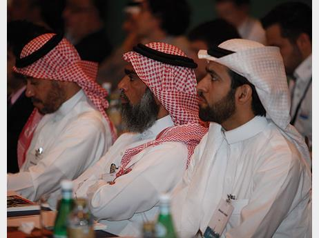 Delegates at the Middle East Conference 2011 in Dubai.